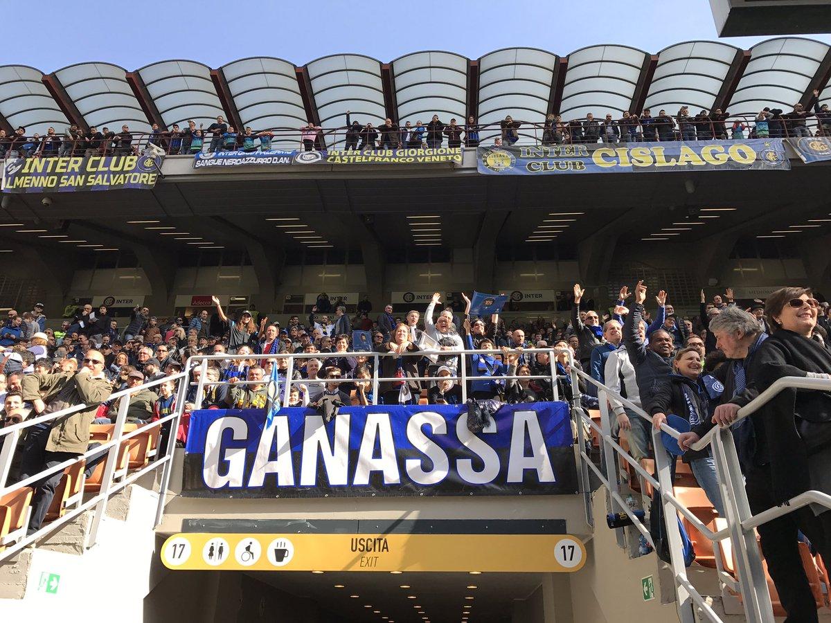 Verso 50mila spettatori per inter genoa - Cosa si puo portare allo stadio san siro ...
